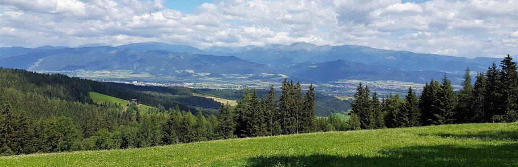 Wandern Murtal Schweizerhof Spielberg